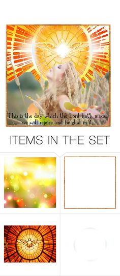"""""""I am Most Thankful For: Today"""" by citizen-innogen ❤ liked on Polyvore featuring art"""