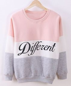 different sweatshirt| $6.16 pastel fairy kei neogal pastel grunge fachin sweatshirt top under10 under20 under30 sammydress