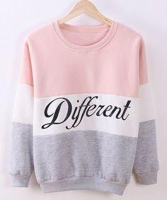 different sweatshirt  $6.16 pastel fairy kei neogal pastel grunge fachin sweatshirt top under10 under20 under30 sammydress
