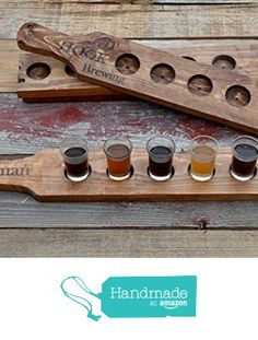 beer tasting tray, beer flight tray, beer lover gift, beer tasting holder, craft beer tasting flight, gifts for him, beer lover gift rustic pallet wood from Reclaimed Oregon http://www.amazon.com/dp/B019UQ7IZO/ref=hnd_sw_r_pi_dp_pZqPwb0XXYMRX #handmadeatamazon