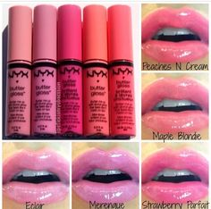 Butter gloss by NYX - love these!