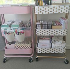 Image about pink in room inspiration🌟 by Lison Study Room Decor, Teen Room Decor, Bedroom Decor, Cute Room Ideas, Cute Room Decor, Craft Room Design, Craft Room Storage, Desk Organization, Room Inspiration