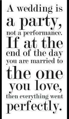 <3 It's so true.Having the man of my dreams say I do and me saying it back... perfect and amazing!