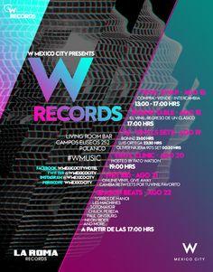 W RECORDS | una semana en la que celebramos la cultura del vinil.  #WRECORDS #WMUSIC http://whotels.ht/1J58Kw6