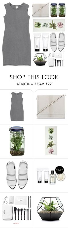 """""""I know I've been living in vain """" by itaylorswift13 on Polyvore featuring Monki, Brahmin, Alöe, Alexander Wang and Bobbi Brown Cosmetics"""