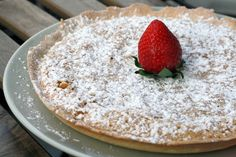 One of the best Spanish desserts, hands down! Try my Tarta de Santiago recipe and enjoy a delicious Spanish almond cake that will leave you wanting more. Spanish Dishes, Spanish Cuisine, Spanish Recipes, Spanish Food, Portuguese Recipes, Cake Recipes, Dessert Recipes, Gourmet Desserts, Plated Desserts