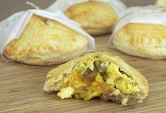Savory Hand Pie Recipes — sausage egg cheese hand pies