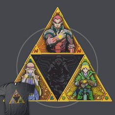 The Triforce With a Touch Of Evil