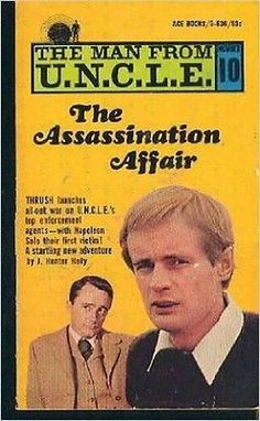 The Assassination Affair (The Man from U.N.C.L.E #10) [Paperback]