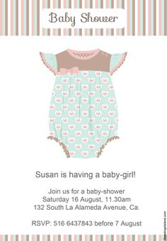 invitaciones de baby shower para imprimir