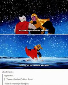 Thanos is a genius   http://ift.tt/2fqfzxq via /r/funny http://ift.tt/2g7f0ds  funny pictures