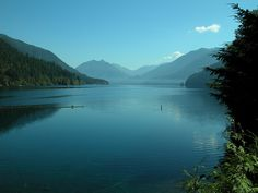 Lake Crescent - My favorite spot on the Olympic Peninsula. I have such great memories with Pete here. Places To Travel, Places To See, Serenity Now, Port Angeles, Evergreen State, Beach Trip, Beach Travel, State Parks, Wa State