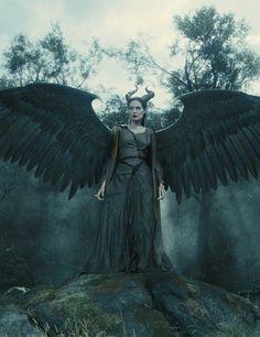 Maleficent: Behind the scenes | ELLE UK