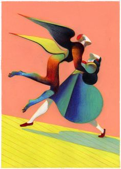 Illustration by Lorenzo Mattotti.