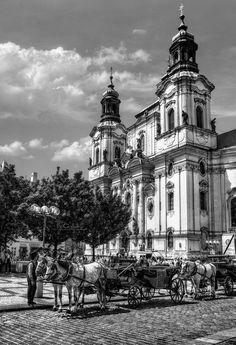 prague - church of st nicholas i by pingallery