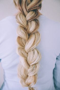 Get Amber's chunky double braid by checking out her tutorial on LaurenConrad.com