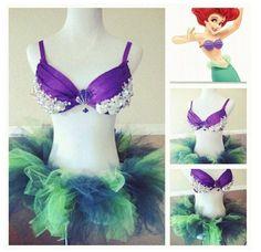 little mermaid bra and tutu! I loooove                                                 converter youtube