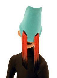 Le masque pleurant (fez designed by Stephen Jones for Gaultier, Bühnen Design, Armadura Cosplay, Stephen Jones, Creation Art, Masks Art, Headgear, Headdress, Costume Design, Masquerade