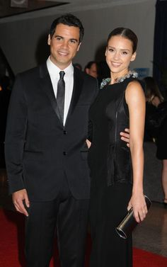 Jessica Alba and Cash Warren - At the White House Correspondents Association Dinner on May 1, 2010.