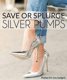 omg silver pumps