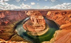 Horseshoe Bend in Page, Arizona Page Arizona, Wild Nature, Norway, To Go, Earth, Landscape, Places, Pictures, Photos