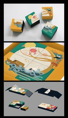 The Mid-Autumn festival project. Tea Packaging, Food Packaging Design, Packaging Design Inspiration, Brand Packaging, Graphic Design Inspiration, Branding Design, Mid Autumn Festival, Festival 2016, Dm Poster
