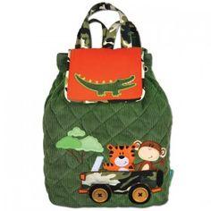 Children's Safari Signature Backpacks - Personalisable