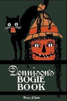 Vintage Dennison Halloween Bogie book.
