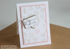 Geburtstagskarte Stampin Up Birthday Card Grusskarte Greeting Card Geburtstagskarte Maedchen 045