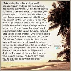 Lessons Learned in Life | Just live.