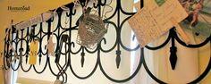 Creating a valance using garden fencing www.homeroad.net