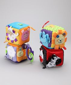 Take a look at this Taggies Big Soft Blocks on zulily today!