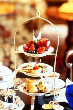High tea Ritz Carlton, Cleveland
