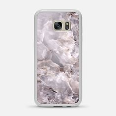 Grey Purple Marble - Classic Snap Case