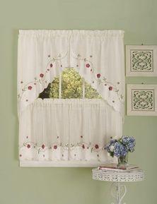 Rosalie Kitchen Curtain Set | Moshells
