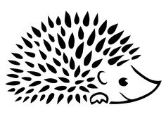 nature logos for photography - Ecosia Hedgehog Art, Cute Hedgehog, Doodle Drawings, Doodle Art, Tangle Doodle, Drawing Projects, Photography Logos, Stencil Designs, Animal Design