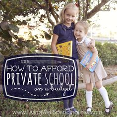 How to Afford Private School on a Budget Square