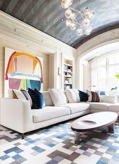 Inside a Modern Maryland Home With a Nod to the Past via @MyDomaine