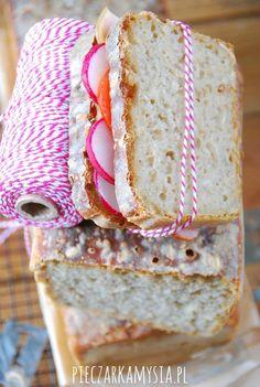 Domowy chleb na zakwasie | Słodkie Przepisy Kulinarne Sandwiches, Bread, Food, Brot, Essen, Baking, Meals, Breads, Paninis