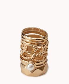 #Forever21                #ring                     #High #Polish #Ring       High Polish Ring Set                                http://www.seapai.com/product.aspx?PID=14874