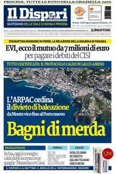 La copertina del 02 agosto 2016 #ischia #ildispari