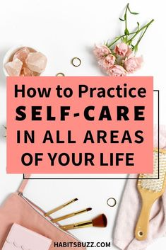 A self-care routine should be made a non-negotiable part of your life. When practicing self-care activities, do you practice it in each area of your life? What Is Self, Self Love, Self Development, Personal Development, Self Care Activities, Self Care Routine, Best Self, Take Care Of Yourself, Beauty Routines