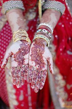 Pakistani Wedding, Bride in Red Dress. Kundan Jewelry. Tika, nath, love, marriage, henna, mehendi, bridal, indian, shoes,  Photography: Amna Hakim Photography Makeup & Hair: Lessone Bridal