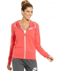 Nike Top, Long-Sleeve Gym Vintage Hoodie