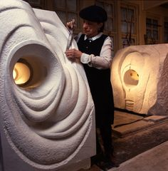 Louise Bourgeois in her studio in 1988 with The Sail. PHOTO: CLAUDIO EDINGER. COURTESY THE EASTON FOUNDATION. ART: LOUISE BOURGEOIS TRUST, ...