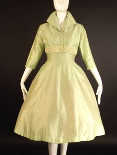 1950s Lime Alaskine Dress & Bolero at Vintage Martini – Vintage Martini-Designer Contemporary & Vintage Consignment Clothing