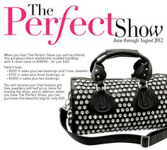 The Perfect Show! Fifth Avenue Collection, Promotion, Jewels, Business, Womens Fashion, Bags, Style, Handbags, Jewelery