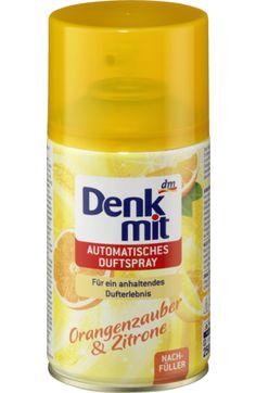 Der Nachfüller Orangenzauber & Zitrone für das automatische Duftspray von Denkmit verleiht Räumen eine sommerliche Frische. Die fruchtig-frische Kompos...
