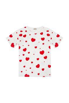CAMISETA CORAZONES ROJOS | Teria Yabar Primavera Verano 2020 Crop Tops, Women, Red Hearts, White Tops, Spring Summer, Feminine, Cropped Tops, Crop Top Outfits, Woman