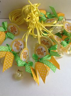 Lion king pacifiers for baby shower by Marshmallowfavors on Etsy, $20.00